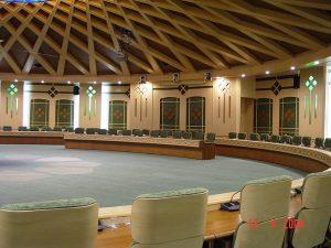 سالن شورای اداری استانداری کرمانشاه